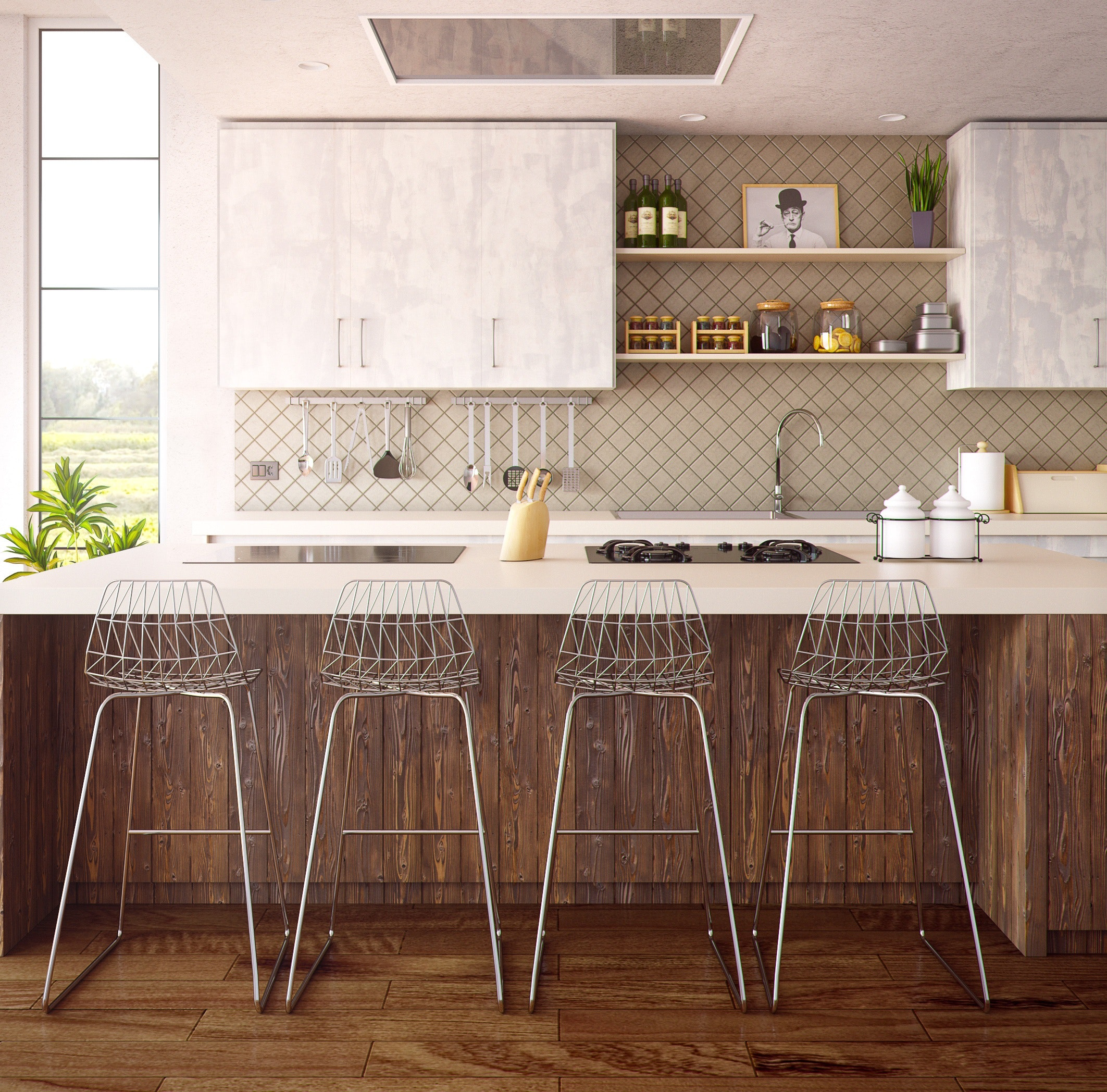 cabinets chairs