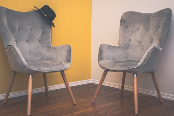 two-suede-armchairs